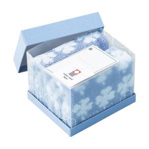 出産内祝い 記念品 はんかち はんかち チーフ ソックス 箱入 |オリム トレフルボックス タオルハンカチ2枚セット|gift-kingdom