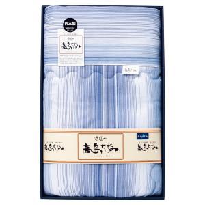 内祝い 法事 肌ふとん |サラッと快適 高島ちぢみ 肌布団ブルー | 繊維に特別な凸凹 TK-1870|gift-kingdom