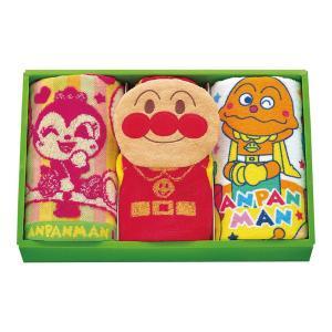 お祝い おもちゃ玩具 |アンパンマン パペットギフト (E) | タオルギフトセット AP-23303|gift-kingdom