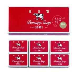 粗品 石けん 洗剤 入浴剤 |石けん 洗剤 入浴剤 牛乳石鹸赤箱(100g)3個入 | 販促景品グッズ B-37-035|gift-kingdom