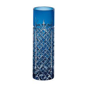 お祝い 御祝 一輪挿し |江戸切子 カガミクリスタル 一輪挿し矢来重 紋 | 花器 フラワーベース F654-1844CCB|gift-kingdom