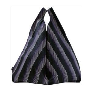 セカンドバッグ メンズ |縞縞 小倉織 シンプルBAG(パッケージ付き)#068紫 | エコバッグ 1E0603068|gift-kingdom