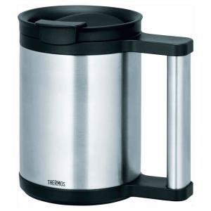 マグカップ タンブラー食器  サーモス THRMOS 真空断熱オフィスマグ   マグカップ 金属 JCP-280 SBK gift-kingdom