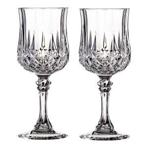 ロックグラス おしゃれ  ロンシャン クリスタル ダルク ワイン ペア   ワイングラス ペア L7552A gift-kingdom