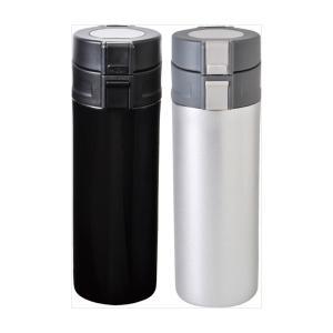 記念品 ステンレスマグ |販促 ごあいさつ品 真空ワンタッチステンレス ボトル350mL | 雑貨 低単価 ノベルティ 粗品 B3105|gift-kingdom