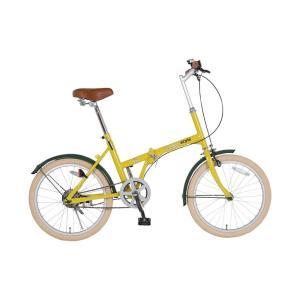ビンゴ 景品 折たたみ自転車 |シンプルスタイル 自転車 20型 折畳 H20COL SS-H20COL/HYL|gift-kingdom