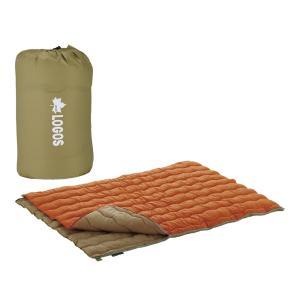 防災用品 防犯用品 |ロゴス 2in1 Wサイズ丸洗い寝袋 2 | シュラフ 72600680|gift-kingdom