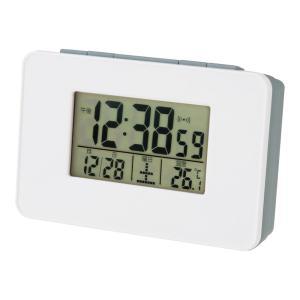 名入れ対応可 電波時計 目覚まし時計 |アデッソ デジタル時計 置時計 | 電波目覚まし時計 SN-01|gift-kingdom