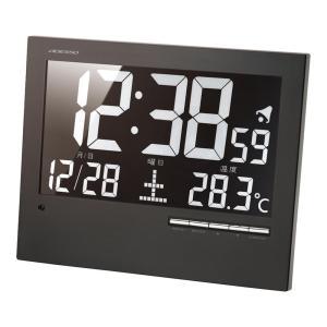 名入れ対応可 電波時計 掛け時計 |ADESSO ウォール電波クロック | デジタル時計 掛置兼用 AK-62|gift-kingdom