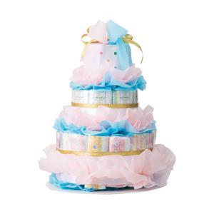 ご出産祝い おむつ |ベビーギフト おむつdeケーキ はじめてママ | 育児用品 ご出産祝い ori2309485598|gift-kingdom