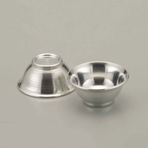 大阪錫器 酒器 |酒器 ぐい呑み おちょこ 錫器 日本製 盃 磨 丸猪口 おちょこ 2個入り SV111100|gift-kingdom