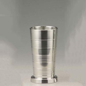 大阪錫器 タンブラー おしゃれ |ビールタンブラー 小 錫器 日本製 SV161501|gift-kingdom