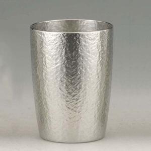 大阪錫器 タンブラー おしゃれ |タンブラー ベルク 錫器 日本製 小 SV160401|gift-kingdom