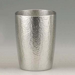 大阪錫器 タンブラー おしゃれ |タンブラー ベルク 錫器 日本製 中 SV160501|gift-kingdom