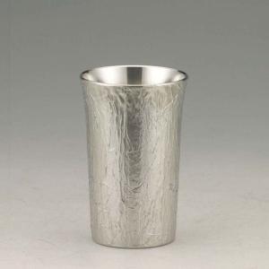 大阪錫器 タンブラー おしゃれ |タンブラー かたらい 錫器 日本製 小 SV160701|gift-kingdom