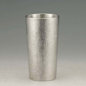 大阪錫器 タンブラー おしゃれ |タンブラー かたらい 錫器 日本製 大 SV160801|gift-kingdom
