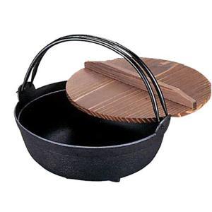南部鉄器 両手鍋 鉄分補給 |南部鉄器 鉄鍋 いろり鍋 一尺 内径300mm | 両手鍋 C05-01-01|gift-kingdom