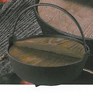 南部鉄器 両手鍋 鉄分補給 |南部鉄器 鉄鍋 いろり鍋 6寸 内径175mm | 両手鍋 C05-02-03|gift-kingdom