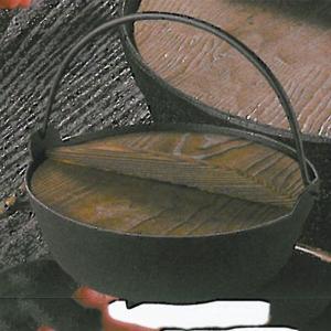 南部鉄器 両手鍋 鉄分補給 |南部鉄器 鉄鍋 いろり鍋 5寸 内径145mm | 両手鍋 C05-02-04|gift-kingdom