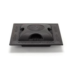 南部鉄器 灰皿 |南部鉄器 灰皿角ツル 大 | 鉄器灰皿 C09-12-01|gift-kingdom