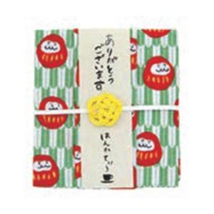 出産内祝い はんかち |はんかてぃ だるま(ダージリン) | はんかち&紅茶ギフト THT-105|gift-kingdom