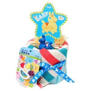 ご出産祝い おむつ |ロディ おむつケーキ | 出産お祝い用 ROC-50B|gift-kingdom
