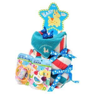 ご出産祝い おむつ |ロディ おむつケーキ | 出産お祝い用 ROC-100B|gift-kingdom