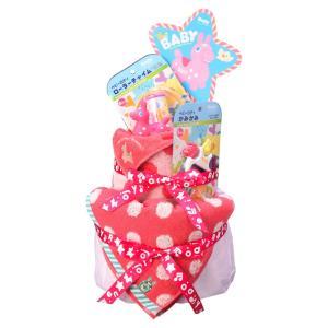 ご出産祝い おむつ |ロディ おむつケーキ | 出産お祝い用 ROC-100R|gift-kingdom