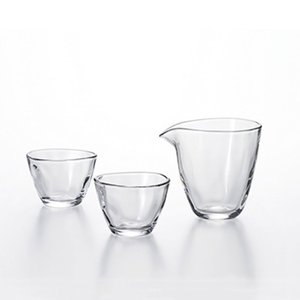 酒器 焼酎グラス おしゃれ 食器 ギフト |アデリア 片口冷酒器セット | 日本酒グラス | Formes de nature S-6202|gift-kingdom