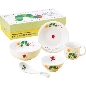 ご出産祝い 幼児用の食器 |はらぺこあおむし ベビーギフト こども食器ギフトセット | 幼児用食器 ご出産祝い 807740|gift-kingdom