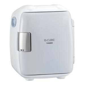 電子保冷保温庫 |ツインバード 2電源式 コンパクト電子保冷保温ボックス ディーキューブ S HR-DB06GY|gift-kingdom