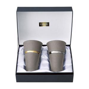 マグカップ タンブラー おしゃれ  J-mode リングペアカップ330ml   タンブラー 陶器 02583 gift-kingdom