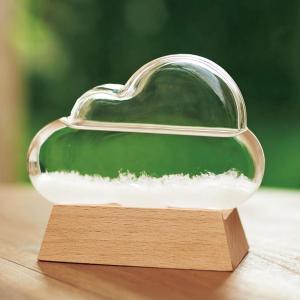 お祝い 御祝 温度計 湿度計 |ストームグラス クラウド | 温度計 333-274|gift-kingdom