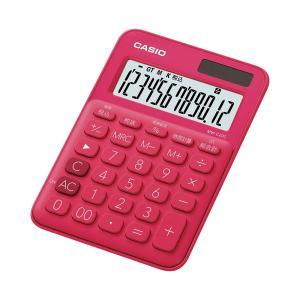記念品 名入CASIO カシオ カラフル電卓ミニジャストタイプ MW-C20C-RD 電卓周年記念品 プレゼント 父 gift-kingdom 02