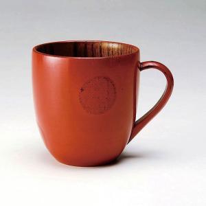 木製 カップ かわいい おしゃれ |なごみ ぬりもん Cマグカップ 水玉 | 木製カップ S22-09|gift-kingdom