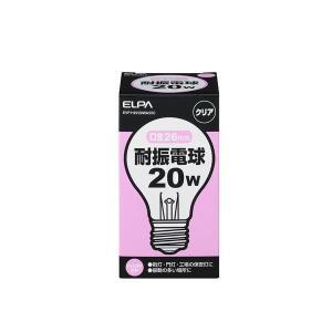 (業務用セット) ELPA 耐震電球 20W E26 クリア EVP110V20WA55C 〔×35セット〕
