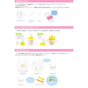 ベビー食器セット ギフトセット お食い初め 日本製 ミキハウス mikihouse 出産祝い 初節句 端午の節句 桃の節句 離乳食 プレゼント 百日祝い|gift-one|04
