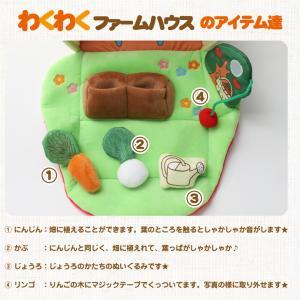 ふわふわファームハウス エド・インター 布のおもちゃ 布製 知育玩具 出産祝い 赤ちゃん 人気 流行 可愛い 男の子 女の子 名入れ ギフトセット プレゼント|gift-one|02
