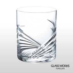 ( グラスワークス / ナルミ ) ウイングオールドファンショングラス ロックグラス グラスワークス 贈り物 記念品|gift-only