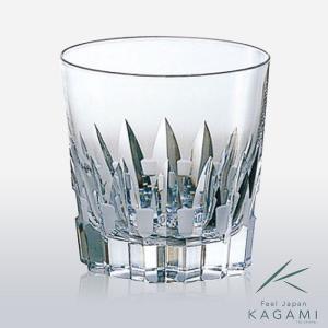 ( カガミクリスタル ) オンザロックグラス ( 1 ) クリスタル グラス|gift-only