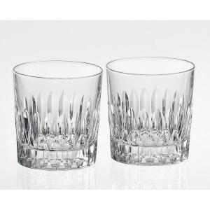 ( カガミクリスタル / ガラス ) ペアロックグラス ( TPS769-2760 ) プレゼント 誕生日 贈り物 記念品 クリスタル|gift-only