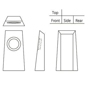 ( カガミクリスタル / ガラス ) クロック...の詳細画像3