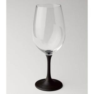 ( 越前塗 / JAPAN Glass ) 白ワイングラス とぎかすり漆 日本製 ワイングラス|gift-only