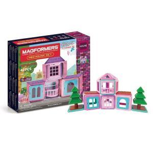 ボーネルンド BorneLund ジムワールド マグフォーマー マイハウスセット42ピース (3歳頃〜)|gift-only