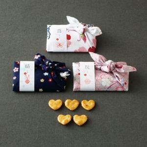 ( プチギフト ) こころつつみ ハートせんべい ( ※10個より )  プレゼント 贈り物 記念品 結婚式 引き出物 パーティー|gift-only