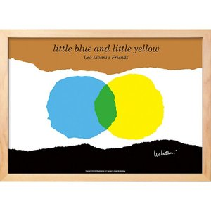 ( アートフレーム ) Leo Lionni little blue and little yellow ポスター アート インテリア 贈り物|gift-only