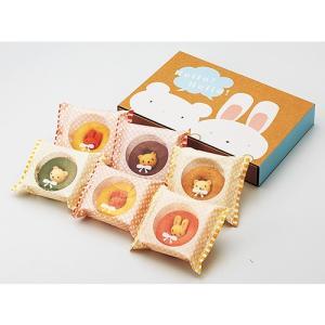 カリーノ / アニマルドーナツ6個 お菓子 プレゼント お返し かわいい 出産祝い gift-only