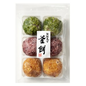 ( 産地直送 冷凍 / 熊野鼓動 ) 熊野鼓動 釜餅 6個
