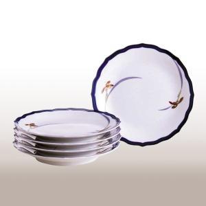 ブランド名:香蘭社 サイズ:径19.5cm 原産国:日本 材質:磁器 内容:皿5個 箱仕様:化粧箱