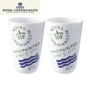 ロイヤルコペンハーゲン(ROYAL COPENHAGEN)フリーカップ ペア フルーテッド シグネチ...